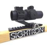 SIGHTRON ダットサイト・L型 ハイマウント II (30/33mm)SD/MD