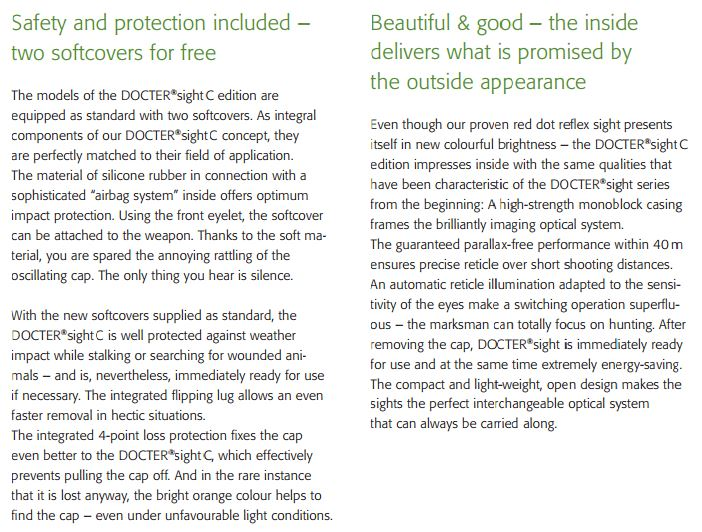 doctersightCダットサイト比較