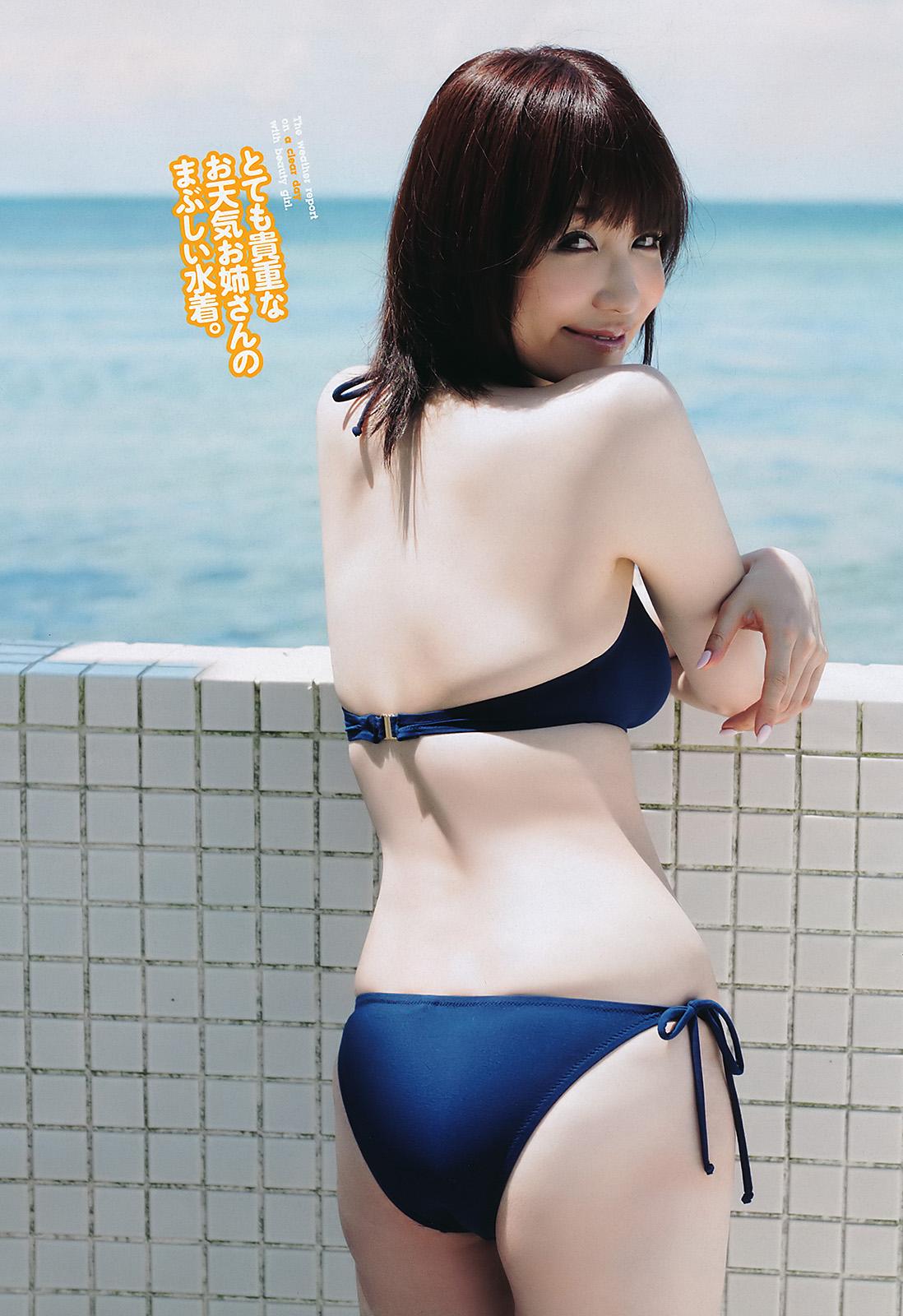 石田紗英子 アナウンサー 水着