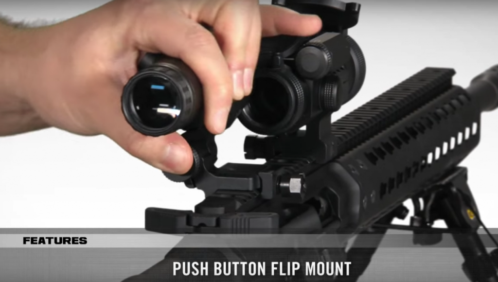 T Magnifier with Flip Mount ダットサイト ブースター