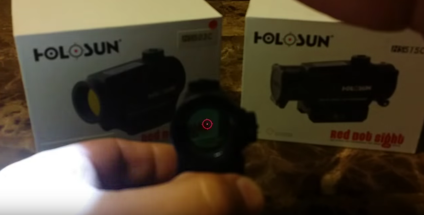 HOLOSUN(ホロサン) HS503C Circle Dot & Solar 光度調節