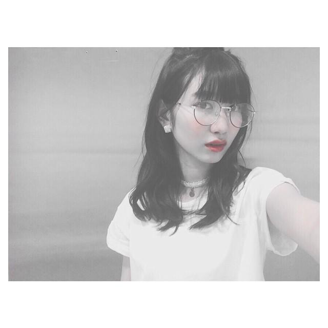 岡本 夏美(おかもと なつみ)メガネ・かわいい・癒し