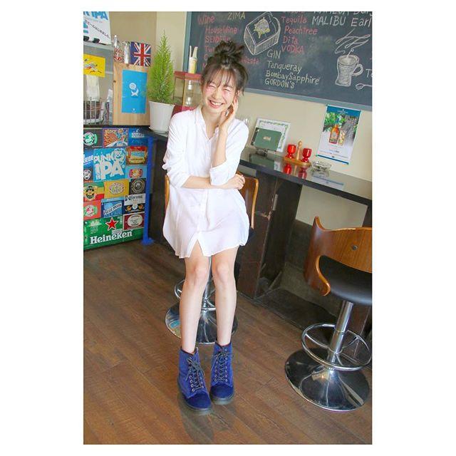 岡本 夏美(おかもと なつみ)脚 スタイルいい 美白