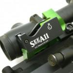 電池不要のSee-All Open Sightファイバーオプティックサイト