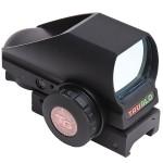 トルグロのオープンダット式ダットサイト・Truglo Tru-Brite Red Dot Dual-Color Multi Reticle