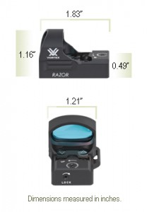 VORTEX RZR-2001 RAZOR RED DOT(3MOA)  ボルテックス ダットサイト