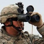 軍用双眼鏡・ミル(レティクル)入り双眼鏡